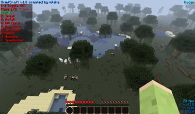 Fly hack для minecraft 1.2.5